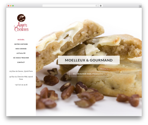 WP theme Stockholm - anns-cookies.com