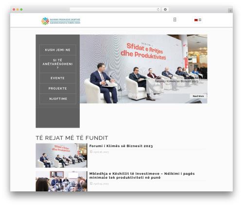 Betheme WordPress theme design - prodhuesit.org