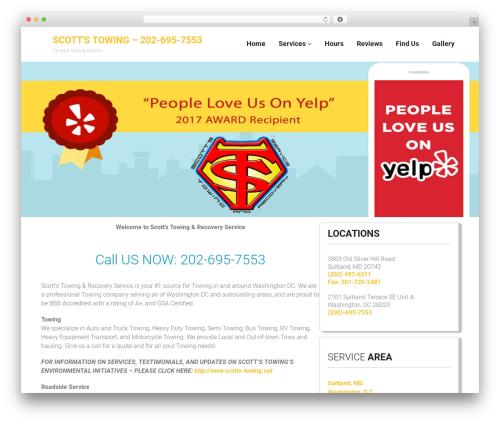 Towy WordPress theme - scottstowingwashingtondc.com