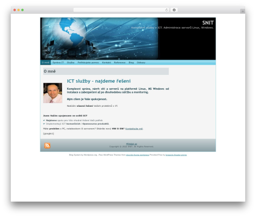 WordPress theme world computer network tee062 - snit.cz