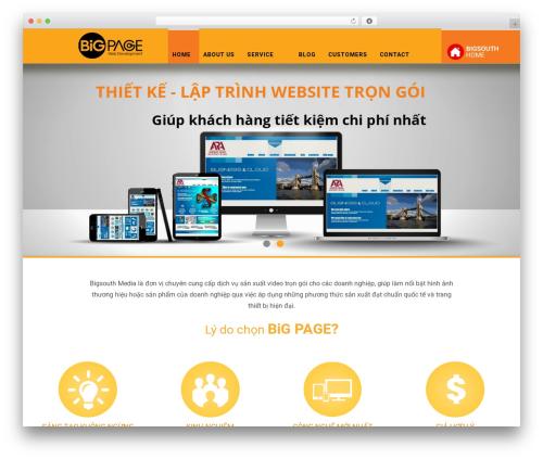 WP Omnia premium WordPress theme - bigpage.org