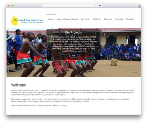Businessweb Plus WordPress template free download - swazilandcharitabletrust.org