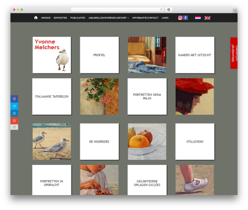 Chameleon premium WordPress theme - yvonnemelchers.nl