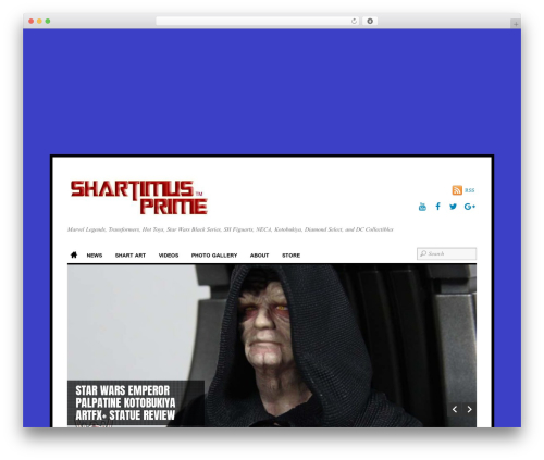 Themify Funki template WordPress - shartimusprime.net