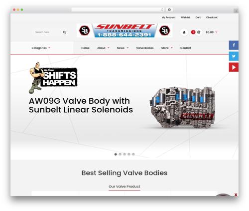 Fastor WordPress theme - sunbeltvalvebodies.com