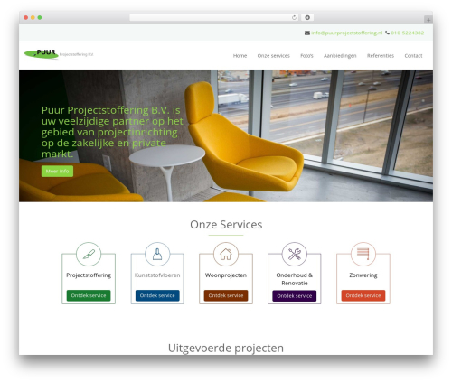 Headway Base WP template - puurprojectstoffering.nl