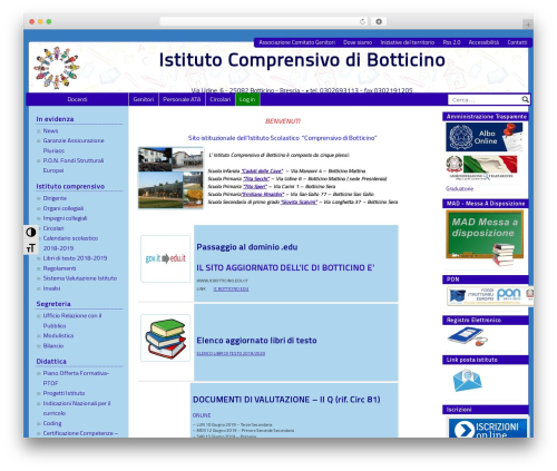 PASW 2015 WordPress template - icbotticino.gov.it