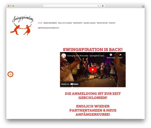 Free WordPress Live Chat with Facebook Messenger plugin - swingspiration.com