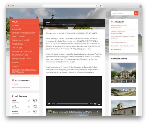 TownPress WordPress theme - mairie-la-chaussee-sur-marne.fr