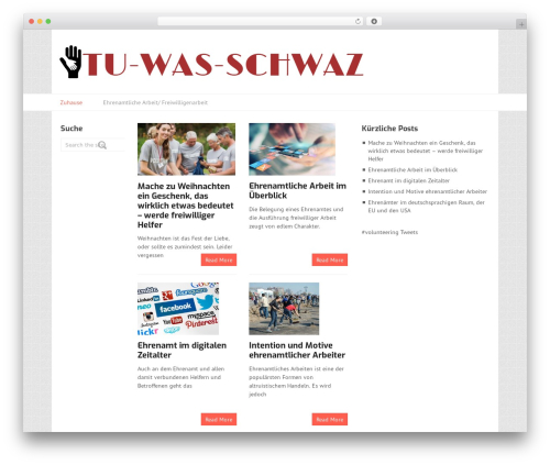 WordPress template Split - tu-was-schwaz.at