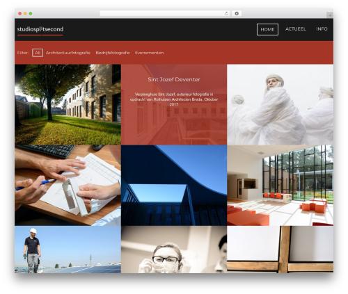 Focal template WordPress - studiosplitsecond.nl