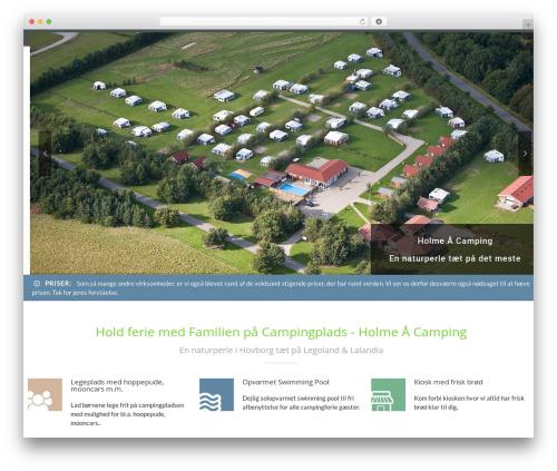 Template WordPress CampingVillage - holmeaacamping.dk