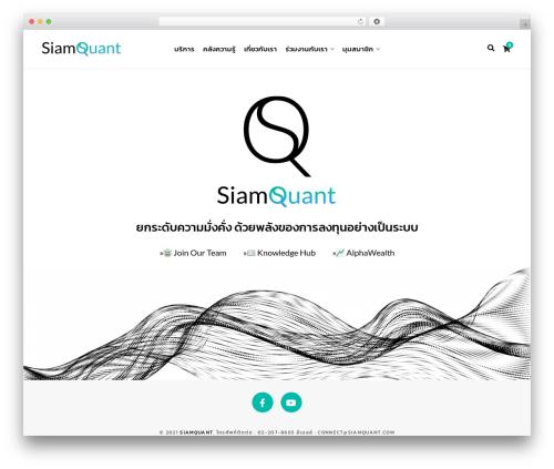 Theme WordPress Contentberg - siamquant.com
