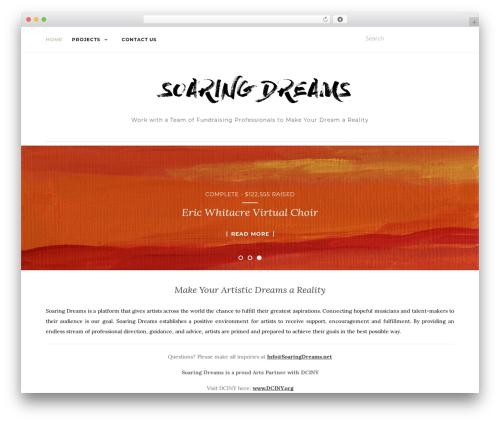 WordPress website template Activello - soaringdreams.net