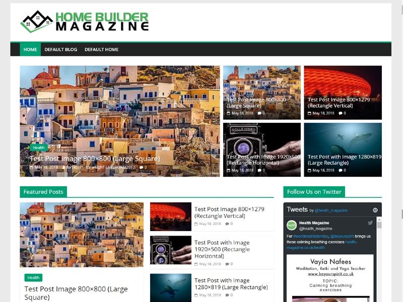 ColorMag Custom top WordPress theme