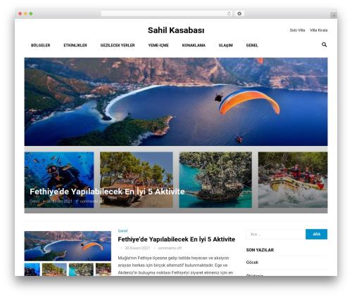 Revolution WP theme - sahilkasabasi.com