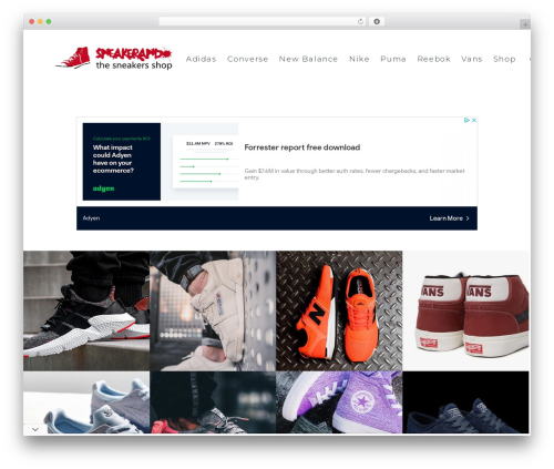 SohoPRO WordPress theme design - sneakerando.com