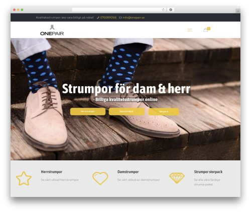 Template WordPress Betheme - onepair.se