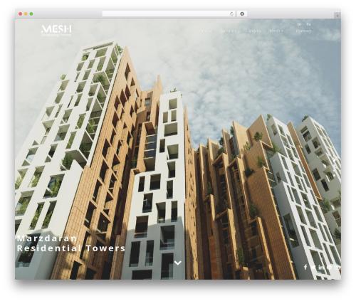 Architecturer WordPress theme - meshoffice.org