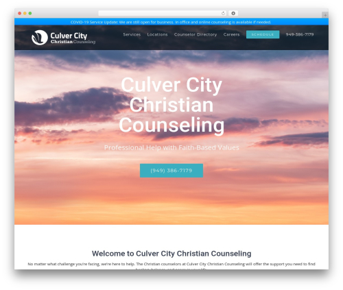 Avada best WordPress theme - culvercitychristiancounseling.com