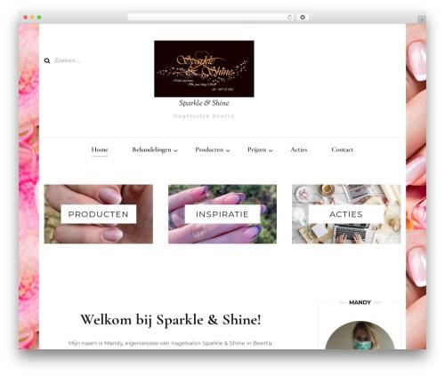 Blossom Fashion premium WordPress theme - sparkleshine.nl