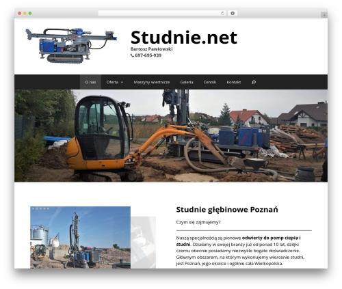 GeneratePress best free WordPress theme - studnie.net