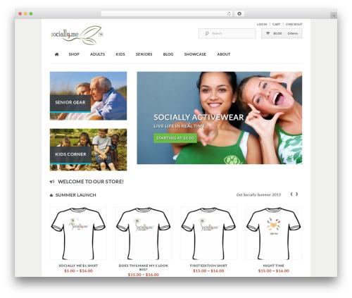 Kaching WordPress WooCommerce Theme WordPress ecommerce theme - socially.me