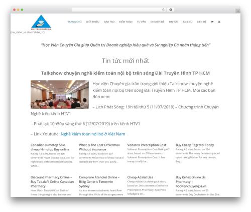 Total theme WordPress free - hocvienchuyengia.vn
