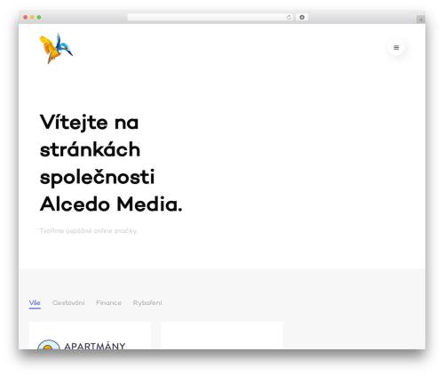 WordPress theme Avenue - alcedomedia.cz
