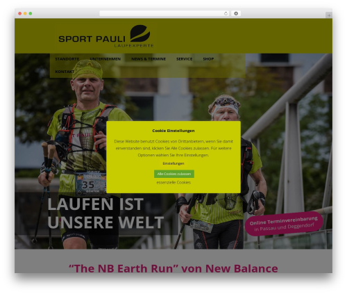 Betheme WordPress theme - sport-pauli.de