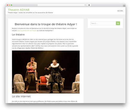 showme best WordPress template - theatre-adyar.fr