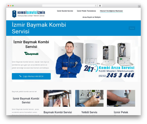 WordPress theme The7 - baymakservisi.xyz