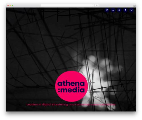 Advanced Twenty Seventeen Child WordPress website template - athenamedia.ie