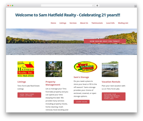 Ascension WordPress real estate - samhatfield.com