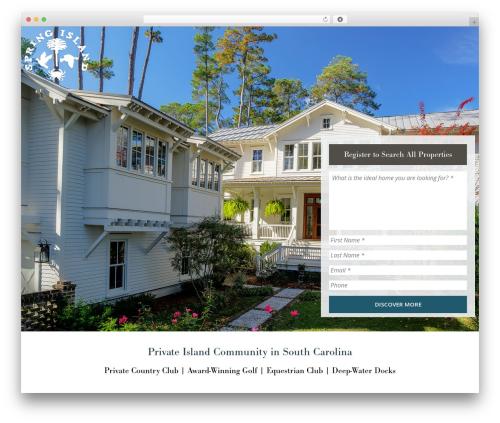 Best WordPress template Dreamland - springislandhomesforsale.com