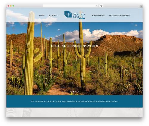 Bridge best WordPress theme - slfpc.com