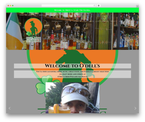 Food Express WordPress template free download - odellsirishpub.com