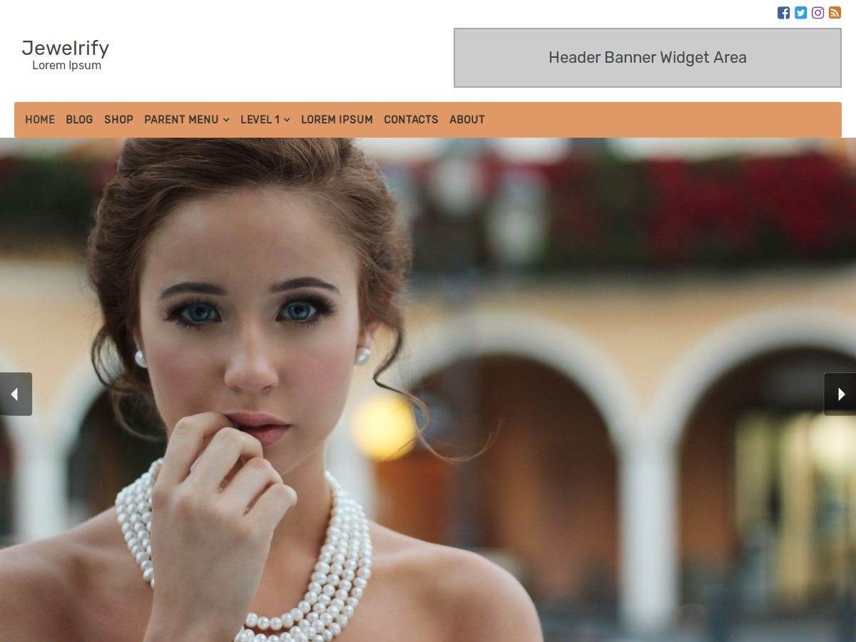 Jewelrify WordPress blog theme
