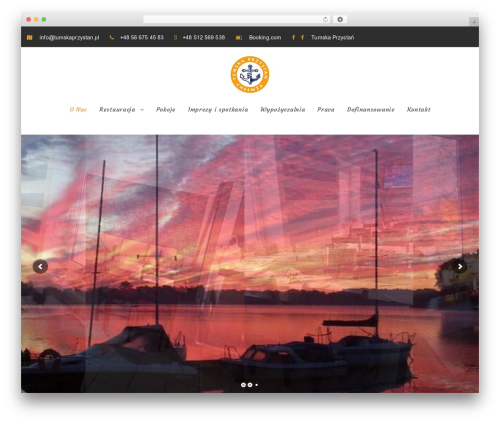 NiceInn best WordPress template - tumskaprzystan.pl