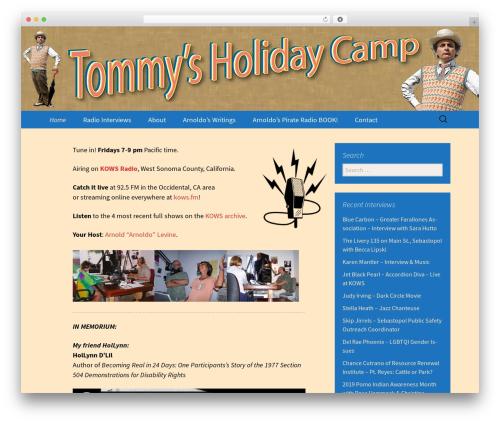 r2d2 WordPress website template - tommysholidaycamp.com