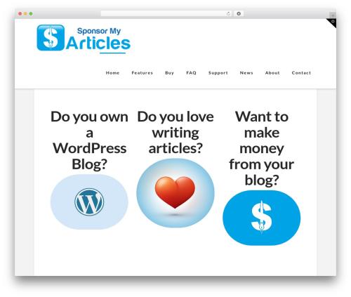 WordPress notification-box plugin