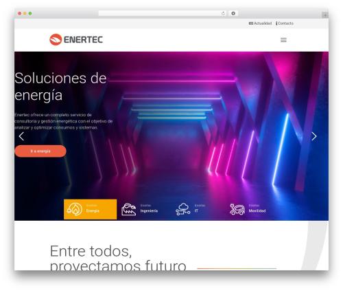 Best WordPress theme Betheme - enertec.es