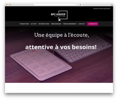 Best WordPress theme Movedo - sfcgroup.fr