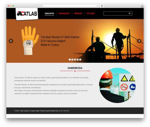 Theme WordPress The7 - atlassanayi.com