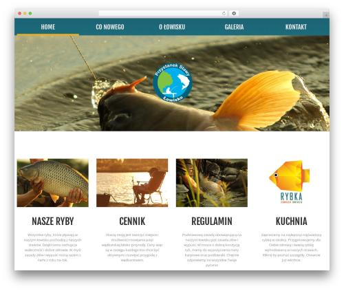 cherry WordPress theme - przystanek-stawy.pl