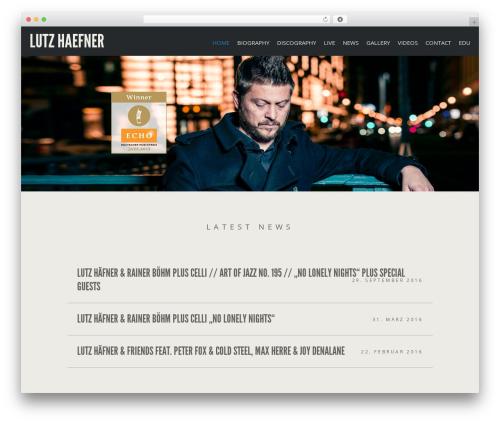 Berliner best WordPress theme - lutzhaefner.de