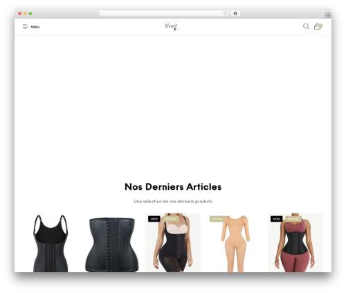 The Hanger WordPress template - corset-minceur.com