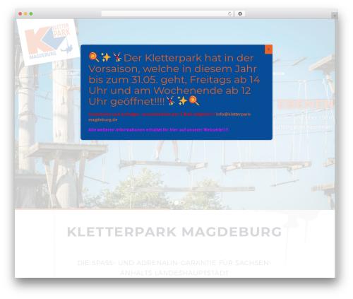 TheGem best WordPress theme - kletterpark-magdeburg.de