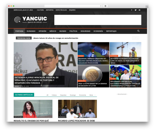 WP template Newspaper - yancuic.com