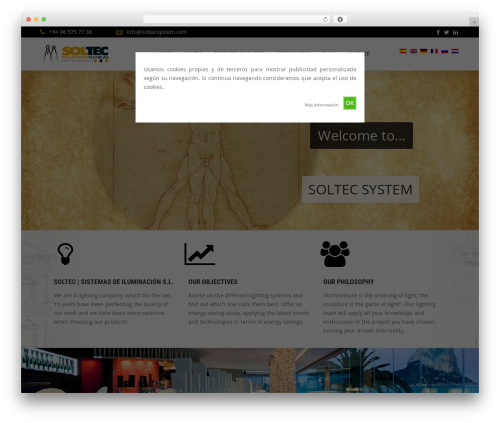 Handel theme WordPress - soltecsystem.com